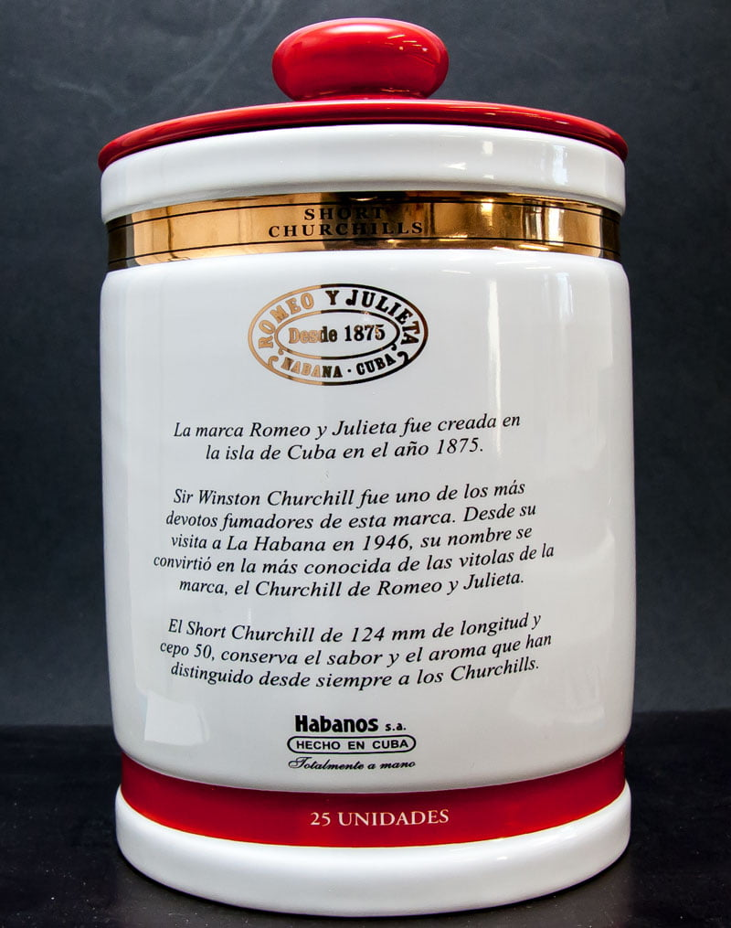 Romeo y Julieta Short Churchill Jar