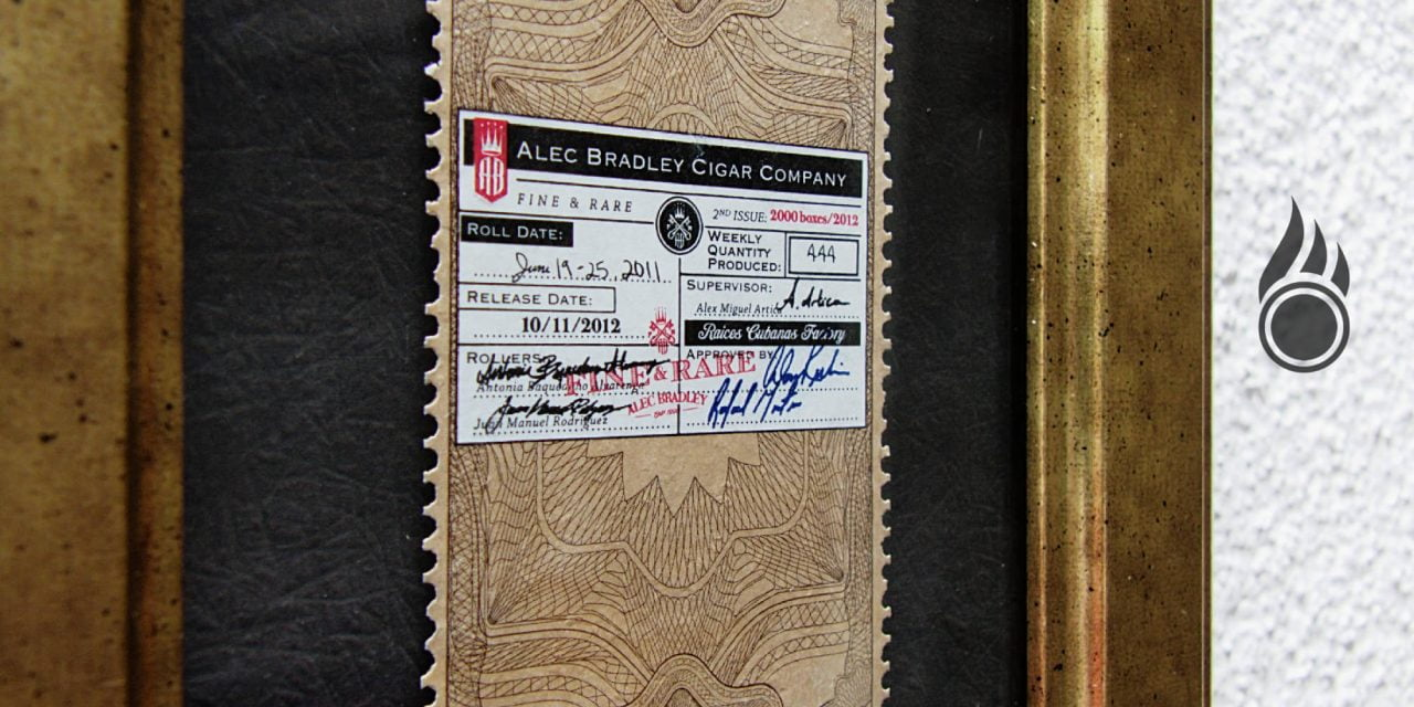 Vitolphilie Alec Bradley Fine And Rare 2nd Issue Toro 2013