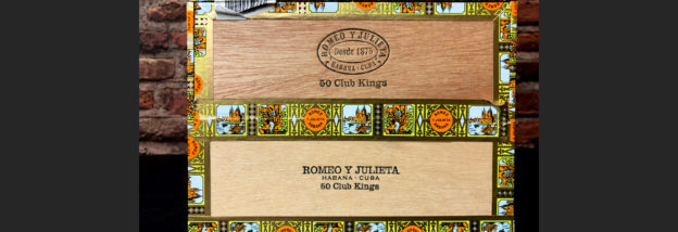 Romeo y Julieta Club Kings Kiste