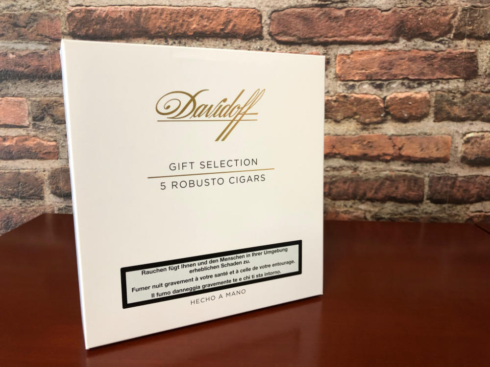 Davidoff Gift Selection 5 Robusto Cigars