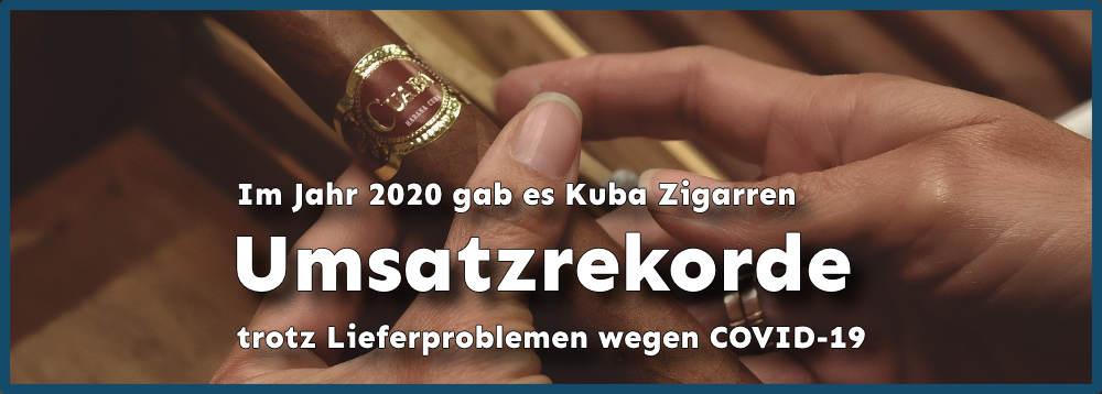 Kuba Zigarren Rekorde trotz Lieferproblemen