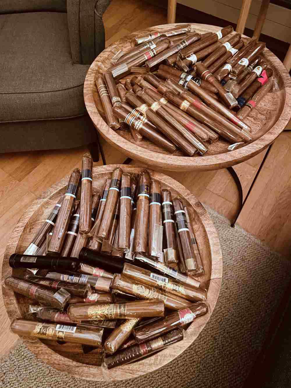 Tomislav Panic 100 Zigarren gewonnen