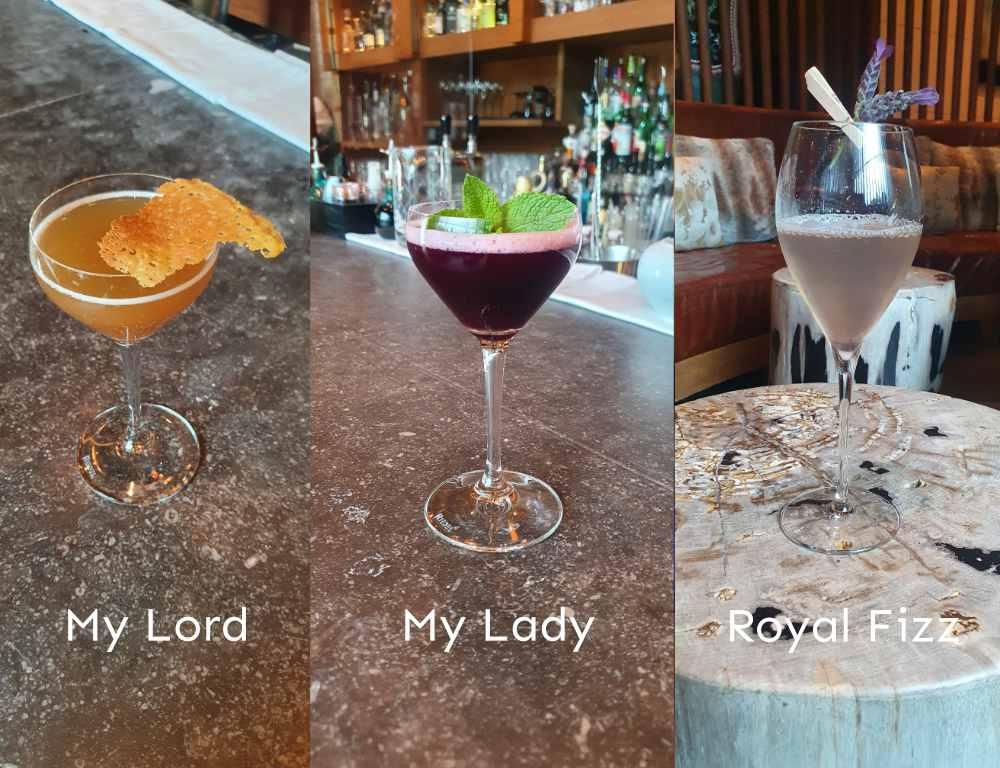Cocktails Pairings 3x