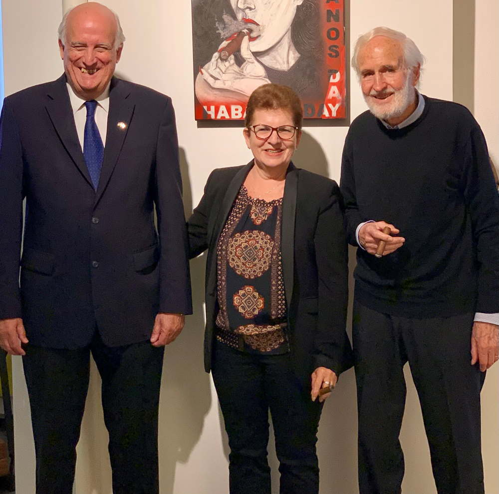 Botschafter der Republik Cuba besucht den Habanos-Importeur