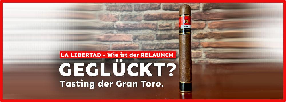 LA LIBERTAD Relaunch und Tasting der Gran Toro