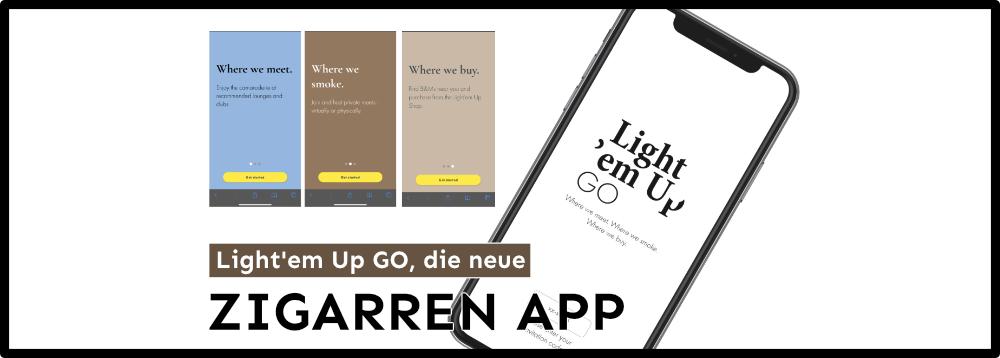Light 'em Up GO Zigarren App
